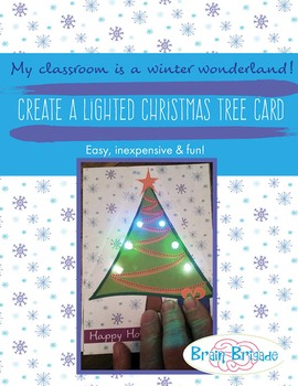EASY! Create a Light Up Holiday Card | LEDs Circuits Maker