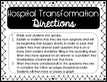EASY- Hospital Transformation! Math Review