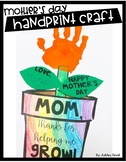 EASY Mother's Day Handprint Craft (Mothers Day)