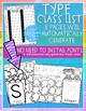 EASY PEASY Name Practice - Back to School - Popcorn Set 1 - PreK, K, Preschool