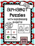 EASY PREP Alphabet Puzzle with Recording Sheets