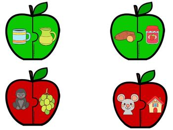 EASY PREP Apple Math and Literacy Center Activities Bundle