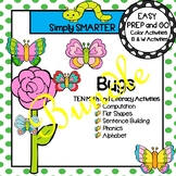EASY PREP Bug Math and Literacy Center Activities Bundle
