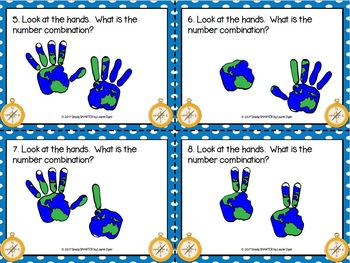 EASY PREP Columbus Day Math and Literacy Center Activities Bundle