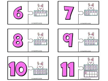 EASY PREP Easter Math and Literacy Center Activities Bundle