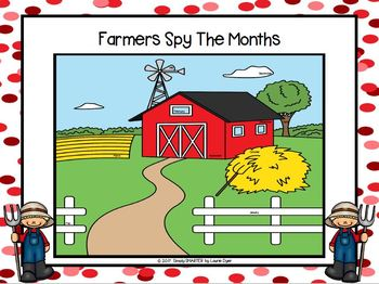 EASY PREP Farm Math and Literacy Center Activities Bundle