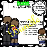 EASY PREP Martin Luther King, Jr., Math and Literacy Cente