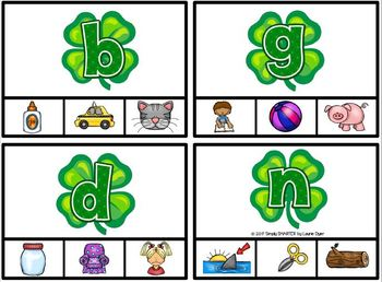 EASY PREP St. Patrick's Day Math and Literacy Center Activities Bundle