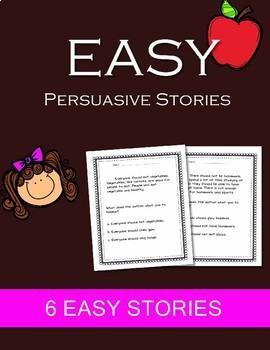 EASY Persuasion Persuasive Passages