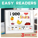 EASY READER I see...+ Fruit Adapted Book