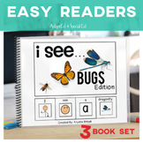 EASY READER I see...+ INSECT BUGS Edition Dual Immersion English, Spanish