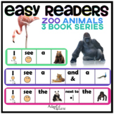 EASY READER I see...+ Zoo Animal Adapted Book
