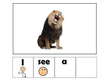 EASY READER I see...Safari Animals Edition 3 Adapted Book