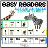 EASY READER I see...Safari Animals Edition 3 Adapted Book