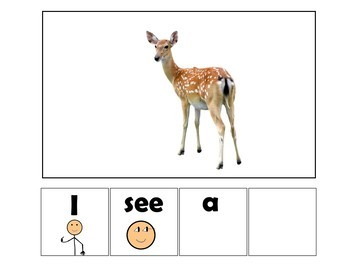 EASY READER I see...Wild Animal 3 Adapted Book