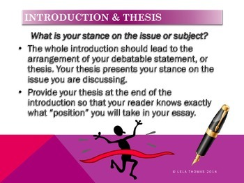 EASY STEPS to Writing an Essay MLA