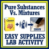 Classification of Matter Activity Pure Substances vs Mixtu