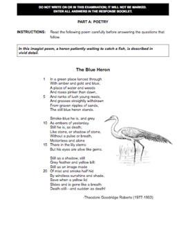 EASY TO MARK - Grade 9 English Final Exam: Multiple Choice, Short Answer, Essay