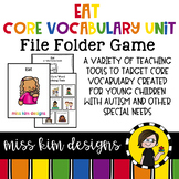 EAT Core Vocabulary Unit for Special Education Teachers