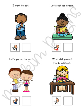 EAT Core Vocabulary Unit for Teachers of Students with Autism & Special Needs