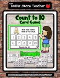EATEN (focus word) - Count to 10 Card Game  *o