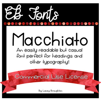 EB Fonts- Macchiato for Commercial Use