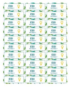 EBI-Even Better If stickers