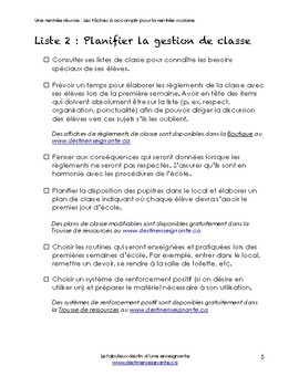 EBook Comment préparer la rentrée scolaire / How to Plan for Back to School
