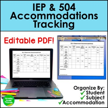 EC Accommodations Notebook (Editable)