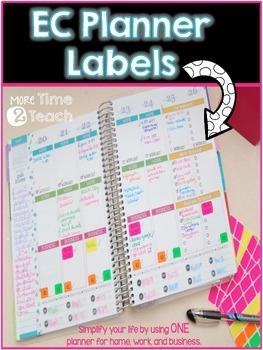 EC Planner Labels {Home, Work, Business}