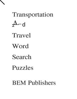 EC Transition Workbooks and Worksheets.