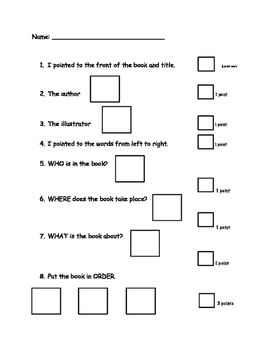 EC reading comprehension assessment