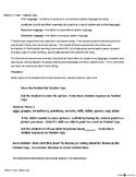 ECE-PreK Vocabulary & Oral Language Benchmark Assessment 3