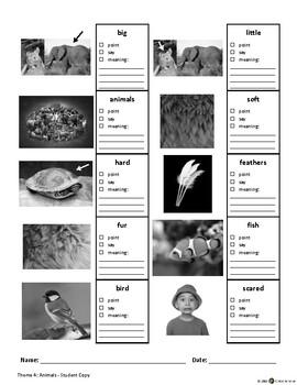 ECE-PreK Vocabulary & Oral Language Benchmark Assessment 4