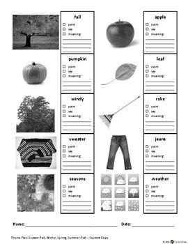 ECE-PreK Vocabulary & Oral Language Benchmark Assessment 8