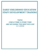 ECE Professional Development Training: Circle Time & Story Time