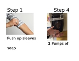 ECERS Handwashing Steps With Pictures