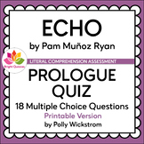 ECHO | PROLOGUE | PRINTABLE QUIZ