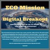 ECO Mission Digital Breakout/Escape