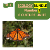 ECOLOGY BUNDLE Number 2 -  Six (6) culture units for Spanish Intermediate 2