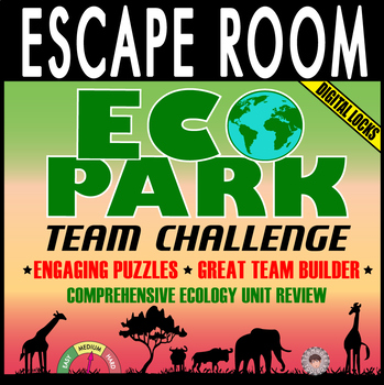 ECOLOGY Escape Room ~EcoPark Team Challenge Breakout~ Digital Locks ~BIOLOGY