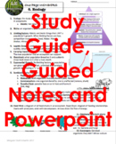 ECOLOGY Living Environment Regents Review- One Page Wonder + Powerpoint