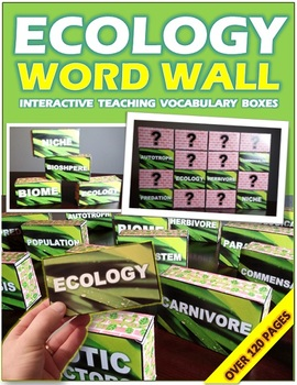 ECOLOGY: WORD WALL