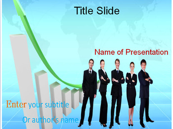 Economic growth powerpoint template by templates vision tpt economic growth powerpoint template toneelgroepblik Image collections