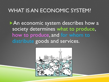 ECONOMIC SYSTEM -6th and 7th grade GPS