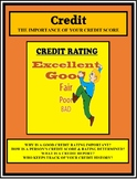 CREDIT, CREDIT SCORES AND RATINGS , Economics, Life Skills, Personal Finance