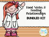 STEM Ecosystem Food Webs & Feeding Relationships Bundled Kit