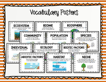 ECOSYSTEM Organization - Levels of the Environment, Biotic vs. Abiotic, Ecology
