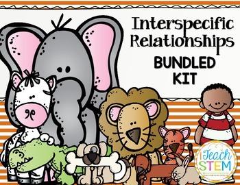 STEM Ecosystem Interspecific Relationships (Symbiosis) Bundled Kit