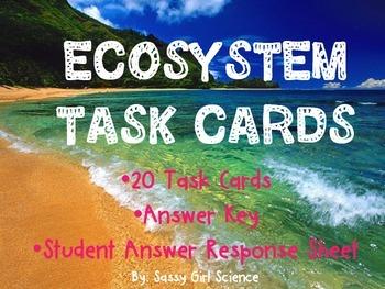 ECOSYSTEM {TASK CARDS}